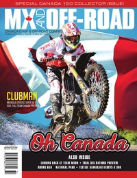 online magazine - MX And Off-Road • Vol. 16, Iss. 02 • Summer 2017
