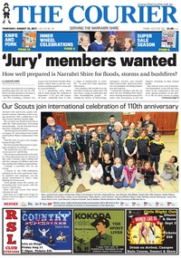 online magazine - The Courier, August 10, 2017