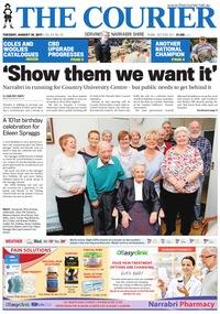 online magazine - The Courier and Wee Waa News, August 15, 2017