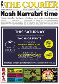 online magazine - The Courier, August 24, 2017