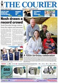 online magazine - The Courier and Wee Waa News, August 29, 2017