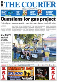 online magazine - The Courier, August 31, 2017