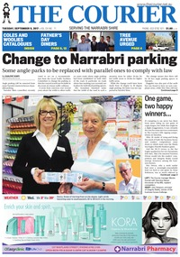 online magazine - The Courier and Wee Waa News, September 5, 2017
