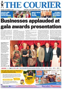 online magazine - The Courier and Wee Waa News, September 12, 2017