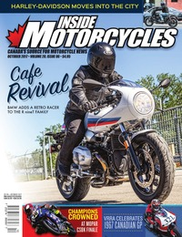 online magazine - Inside Motorcycles • Vol. 20, Iss. 06 • Oct. 2017