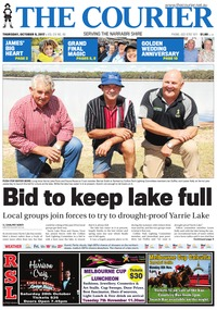 online magazine - The Courier, October 5, 2017