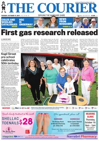 online magazine - The Courier and Wee Waa News, October 17, 2017
