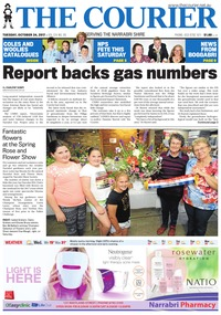 online magazine - The Courier and Wee Waa News, October 24, 2017