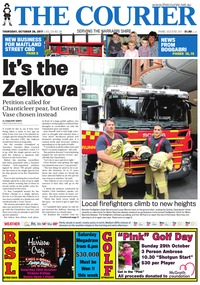 online magazine - The Courier, October 26, 2017
