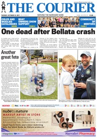online magazine - The Courier and Wee Waa News, October 31, 2017