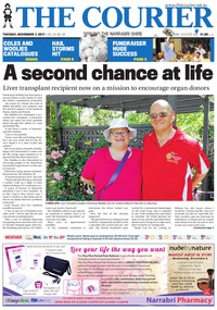 online magazine - The Courier and Wee Waa News, November 7, 2017