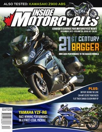 online magazine - Inside Motorcycles • Vol. 20, Iss. 08 • Dec. 2017