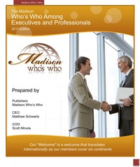 online magazine - 2011 Who's Who of Executives and Professionals