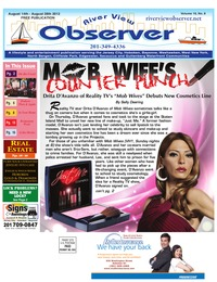 online magazine - August 16 -August 31st River View Observer