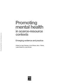 online magazine - Promoting mental health in scarce resource contexts