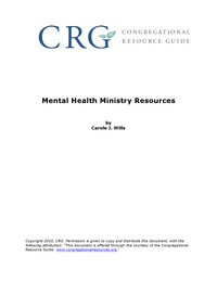 online magazine - Mental Health for Ministries