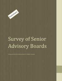 online magazine - Survey of Senior Advisory Boards