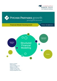 online magazine - Pitcher Partners Financial Modelling Development