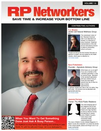 online magazine - Edition #1 - Inaugural Issue - RP Networkers - Social Networking