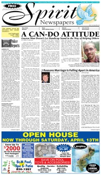 online magazine - Spirit Newspapers, April 11, 2013