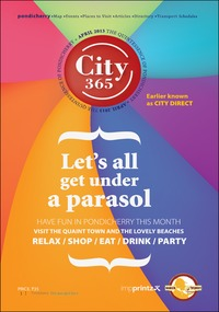 online magazine - CITY 365 APRIL 2013 EDITION
