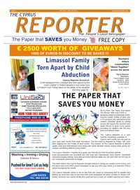 online magazine - Cyprus Reporter 14th June