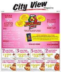 online magazine - City View Magazine June 2013