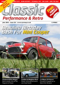 online magazine - Classic, Performance & Retro July 2013