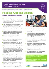 online magazine - Feeding Out and About Leaflet