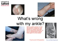 online magazine - Ankle diagnosis ebook