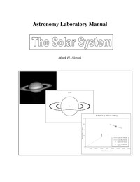 online magazine - Astronomy Laboratory Manual - SS