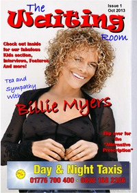 online magazine - The Waiting Room - Issue 1