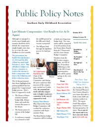 online magazine - Public Policy Notes Volume 6, Issue 10