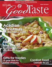 online magazine - Good Taste Fall 2013 - Gracious Living on the East Coast