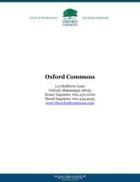 online magazine - Oxford Commons