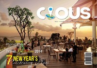 online magazine - Cious Bali | 7 New Year's Celebrating Plans ,December 13 Vol.12