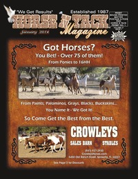 online magazine - Horse N Tack Jan14 Area 12