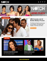 online magazine - Notch News Flash 10 march 2014