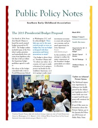online magazine - Public Policy Notes Volume 7, Issue 3