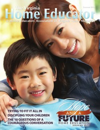 online magazine - The Virginia Home Educator Summer Issue 20-2
