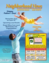 online magazine - Neighborhood News- June 2014 Issue