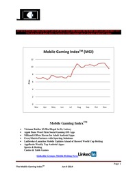 online magazine - Mobile Gaming Index-Jun 09 (LAD, WMH, BSKYB, AAPL)
