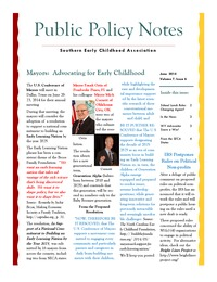 online magazine - Public Policy Notes Volume 7, Issue 6