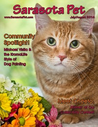 online magazine - July/August 2014 Issue of Sarasota Pet