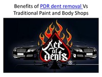 online magazine - Benefits of PDR dent removal Vs Traditional Paint and Body Shops