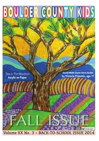 online magazine - Boulder County Kids Fall Issue
