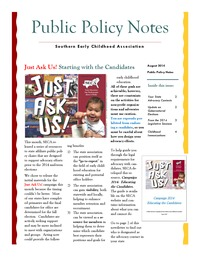 online magazine - Public Policy Notes Volume 7, Issue 8