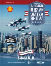 online magazine - Chicago Air & Water Show Program