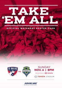 online magazine - Gameday Magazine - FC Dallas vs Seatle Sounders FC