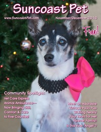online magazine - Suncoast Pet - November-December 2016 - Holiday Issue